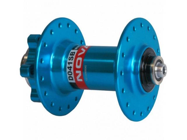 Náboj Novatec D041SB přední 32 děr modrý