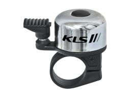 Cyklistický Zvonek KLS BANG 10 - stříbrný (OEM balení)