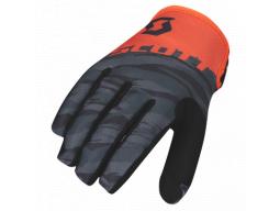 Rukavice Scott 350 Dirt black/orange