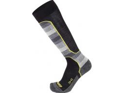 Ponožky Eisbär Ski Tech Light Mens DX+SX Black