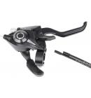 Řadící brzdová páka Shimano ALTUS ST-EF51 MTB/trek pro V-brzdy pravá 7 rychl 4 prstá černá
