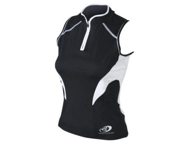 Dres Shimano INDOOR LADY bez ruk. Black White model 2010