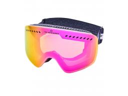 lyžařské brýle BLIZZARD Ski Gog. 983 MDAVZOW, white shiny, smoke2, pink REVO