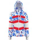 Bunda Poivre Blanc Ski Jacket Blue Flower/Multi, 19/20