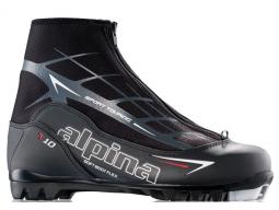 Běžecké boty Alpina T10 Black/White/Red