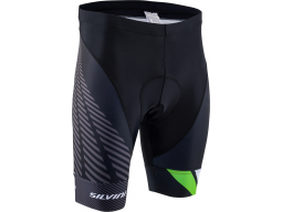 Kraťasy Silvini Team MP1407 Black-Green