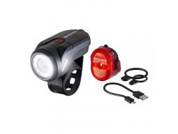 Sada světel SIGMA AURA 35 USB + NUGGET II