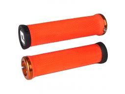 Gripy MTB ODI Elite Motion Lock-On oranžová