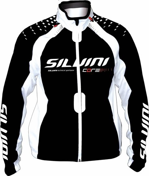 Bunda Silvini CORE WJ105 LADY Black White model 2012