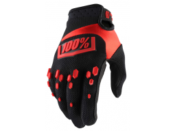Rukavice 100% Airmatic Black/Red Youth