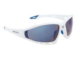 Brýle Force PRO White, modré laser skla