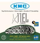 Řetěz KMC X11-EL Silver box, 11ti rychlostní