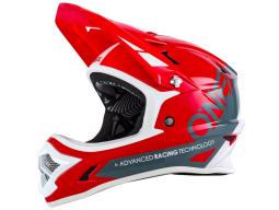 Helma O´Neal Backflip Fidlock DH RL2 Bungarra červená/šedá