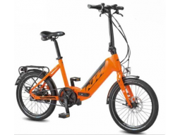 Skládací elektrokolo KTM MACINA FOLD 500Wh orange (black), 2020