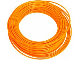 Bowden brzdový 1m reflexní oranžový
