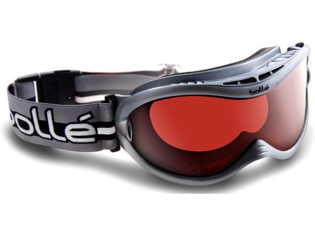 Lyžařské brýle Bollé SHARKFIN Shiny Silver Vermillon Gun