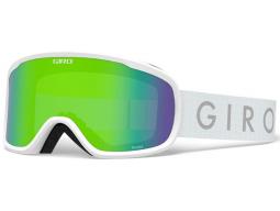 Lyžařské brýle GIRO Roam White Core Loden Green/Yellow (2 skla)