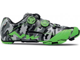 Tretry Northwave Extreme Xc Reflective Camo/Green Fluo model 2018