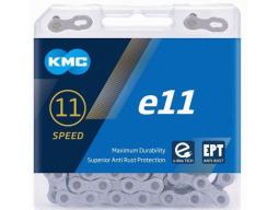 Řetěz KMC E11 EPT nereznoucí stříbrný box