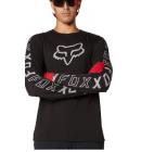 Dres Fox Racing Ranger Dr Ls Jersey Black
