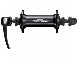 Nába přední Shimano DEORE HB-T610 pro ráfkovou brzdu 36 děr RU: 133 mm černá