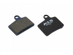 Brzdové destičky KLS D-06, pro Hayes organické (pár)