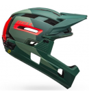 Helma Bell Super Air R MIPS Mat/Glos Green/Infrared