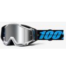 Brýle 100% Racecraft PLUS Daffed chrom plexi stříbrné