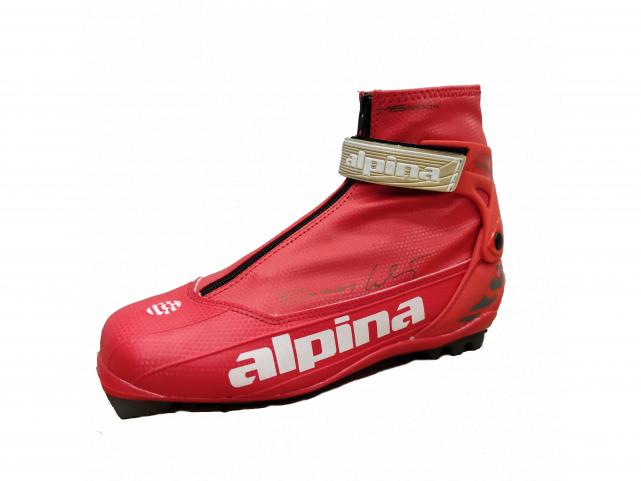 Běžecké boty Alpina SR 30 Lukáš Bauer Red Charcoal Gold model 2009/10