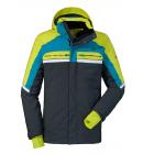 Bunda Schöffel Ski Jacket Bergamo1 Grey/Green, model 2017/18
