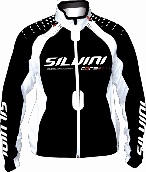 Bunda Silvini CORE MJ104 Black White