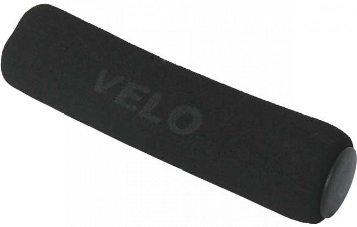 Gripy Velo VLG-136 mechové tvrdé černé