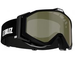 Lyžařské brýle BLIZ EDGE OTG Matt Black, Brown Polarized, model 2016/17