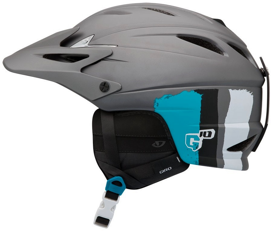 Helma Giro G10 MX Matte Grey Stripes model 2011/12