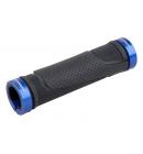Gripy PRO-T Plus na inbus 308, černá+modrá objímka