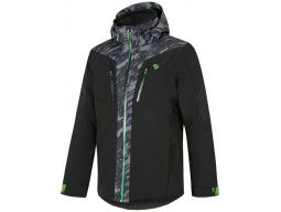 Bunda Ziener Twomile Man Ski Jacket Black/Camo, 19/20