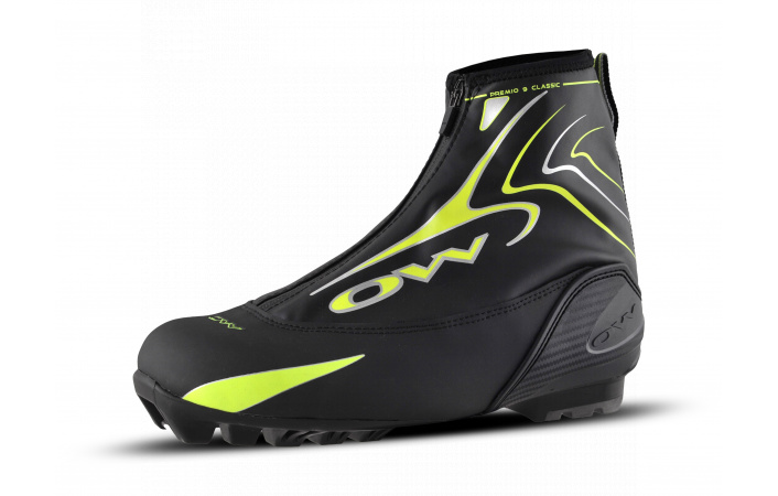 Běžecké boty One Way PREMIO 9 CLASSIC Black Yellow