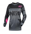 Dámský dres O´Neal Element RACEWEAR šedá/růžová