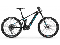 Elektrokolo Mondraker Chaser 29, black/light blue/flame red, 2020