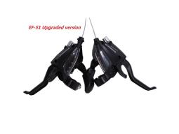 Řadící a brzdové páčky Shimano STEF51 3x7 2prsté černé