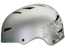Helma Giro FLAK Matt Silver Flowers model 2012
