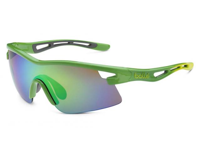 Sluneční brýle Bollé VORTEX Green Edge Shine Green Rose