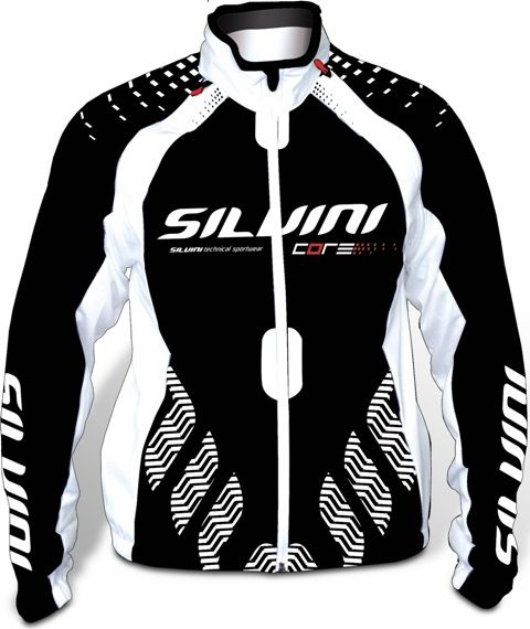 Bunda Silvini CORE WJ105 LADY Black White + Print model 2012