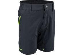 Dětské kalhoty Silvini ARVO CP813 black-neon