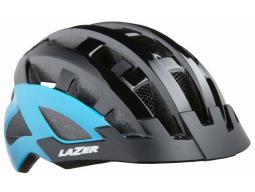 Helma Lazer COMPACT DLX Černo-modrá