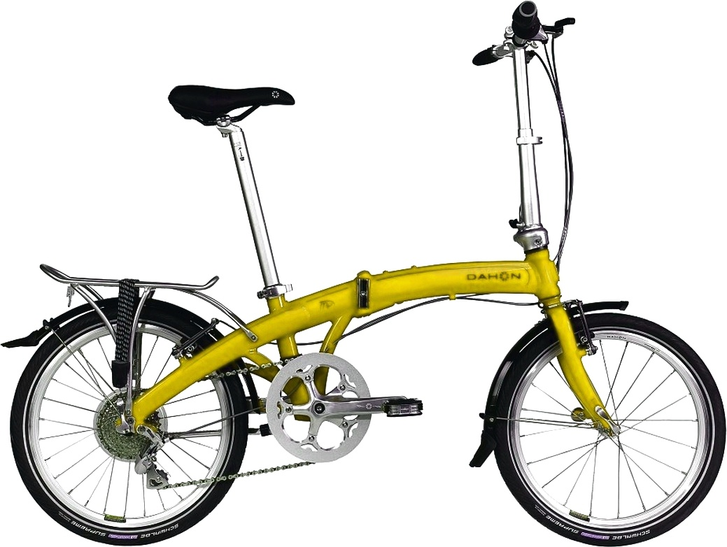 Kolo Dahon MU P8 Yellow model 2012