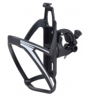 Košík PRO-T plast na řídítka plastový, černo-bílý