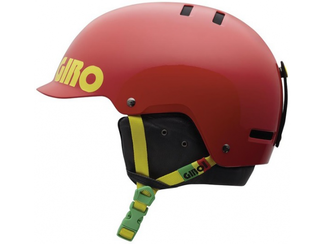 Helma Giro SURFACE S Red Rasta Color Block model 2013/14