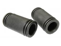 Gripy VELO-311 černé uzavřené 60mm