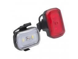 Světla Blackburn Click USB Přední + Click USB Zadní (Set) black